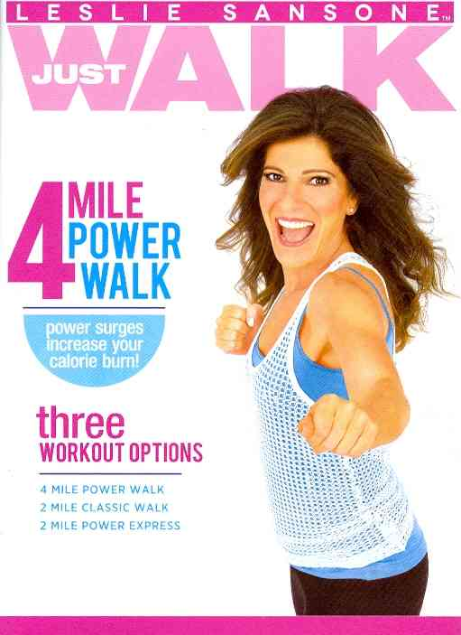 LESLIE SANSONE:4 MILE POWER WALK BY SANSONE,LESLIE (DVD)